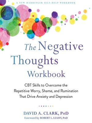 cover image of The Negative Thoughts Workbook