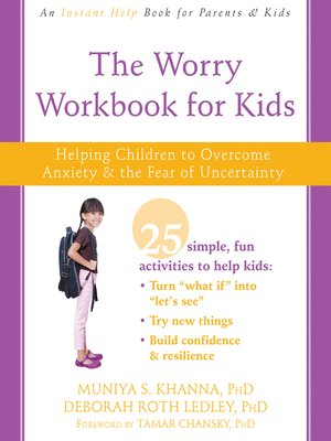 cover image of The Worry Workbook for Kids
