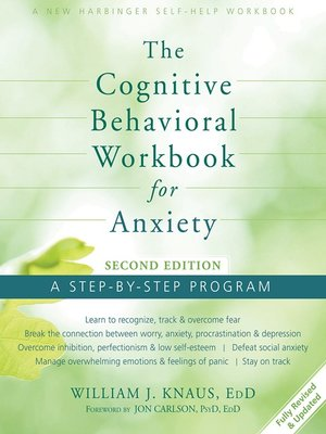 cover image of The Cognitive Behavioral Workbook for Anxiety