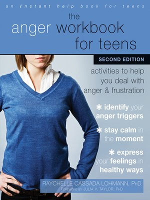 cover image of The Anger Workbook for Teens