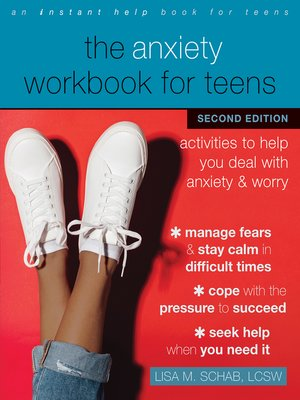 cover image of The Anxiety Workbook for Teens