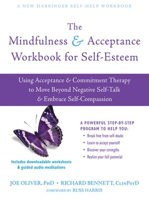 cover image of The Mindfulness and Acceptance Workbook for Self-Esteem