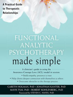 cover image of Functional Analytic Psychotherapy Made Simple