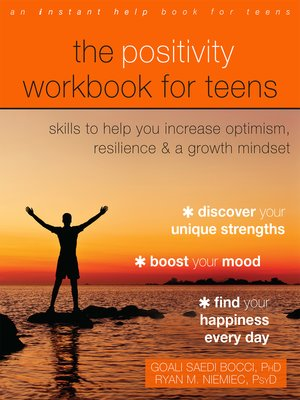 cover image of The Positivity Workbook for Teens