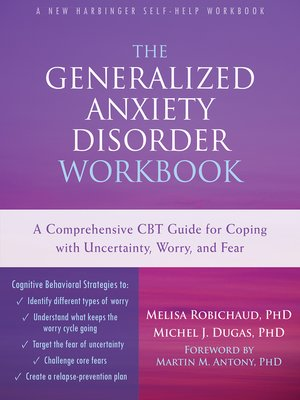 cover image of The Generalized Anxiety Disorder Workbook