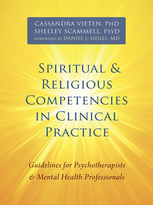 cover image of Spiritual and Religious Competencies in Clinical Practice