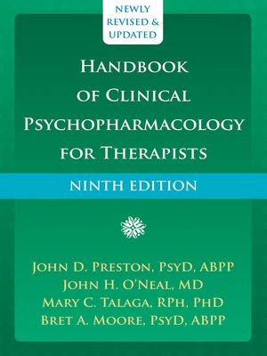 cover image of Handbook of Clinical Psychopharmacology for Therapists