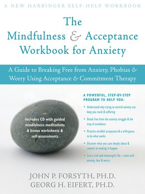 cover image of Mindfulness and Acceptance Workbook for Anxiety