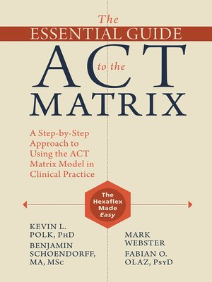 cover image of The Essential Guide to the ACT Matrix