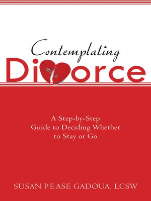 cover image of Contemplating Divorce