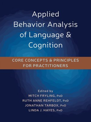 cover image of Applied Behavior Analysis of Language and Cognition