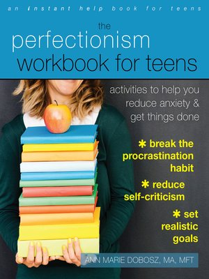 cover image of The Perfectionism Workbook for Teens