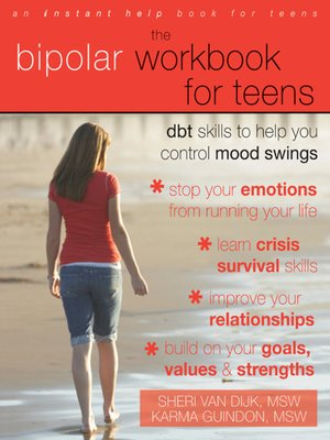 cover image of The Bipolar Workbook for Teens