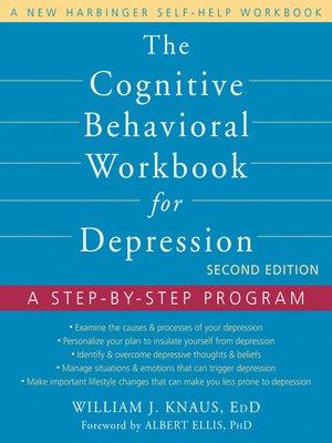 cover image of Cognitive Behavioral Workbook for Depression