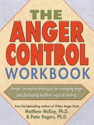 cover image of The Anger Control Workbook