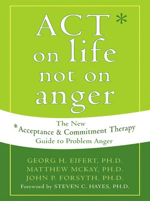 cover image of ACT on Life Not on Anger