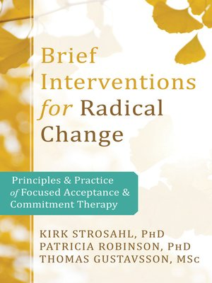cover image of Brief Interventions for Radical Change