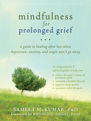 cover image of Mindfulness for Prolonged Grief