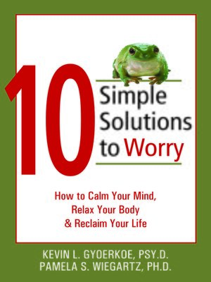 cover image of 10 Simple Solutions to Worry