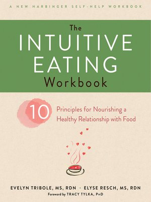cover image of The Intuitive Eating Workbook