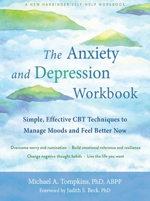 cover image of The Anxiety and Depression Workbook