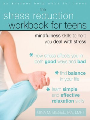 cover image of Stress Reduction Workbook for Teens