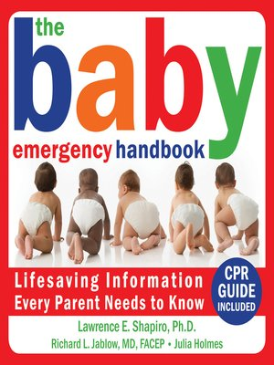 cover image of The Baby Emergency Handbook