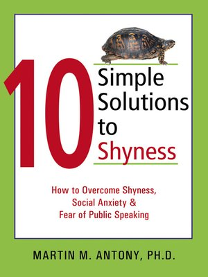 cover image of 10 Simple Solutions to Shyness