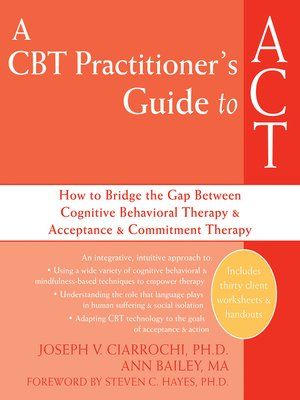 cover image of A CBT Practitioner's Guide to ACT