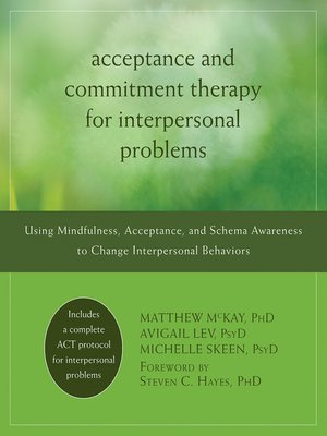cover image of Acceptance and Commitment Therapy for Interpersonal Problems