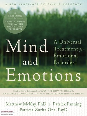 Mind and Emotions by Matthew McKay · OverDrive (Rakuten OverDrive