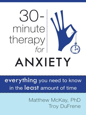 cover image of Thirty-Minute Therapy for Anxiety