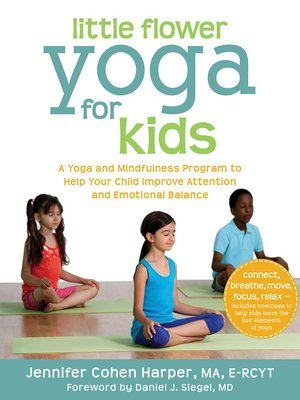 cover image of Little Flower Yoga for Kids