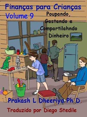 cover image of Poupando, gastando e compartilahndo dinheiro