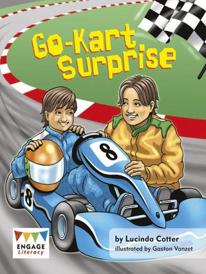 cover image of Go-kart Surprise