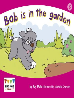 cover image of Bob is in the garden