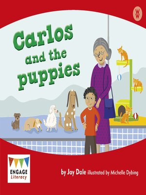 cover image of Carlos and the puppies