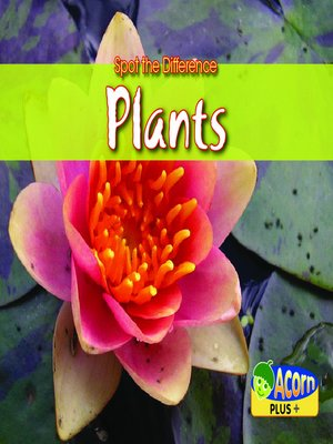 cover image of Spot the Difference Plants
