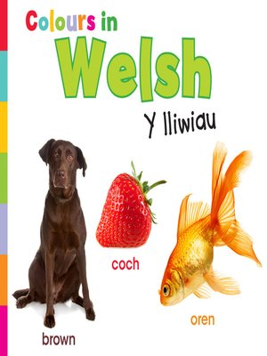 cover image of Colours in Welsh