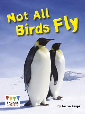 cover image of Not All Birds Fly