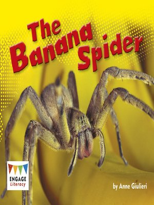 cover image of The Banana Spider