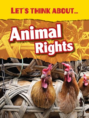 cover image of Let's Think About Animal Rights