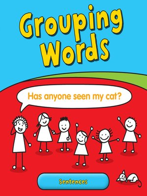 cover image of Grouping Words: Sentences