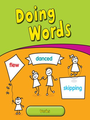 cover image of Doing Words: Verbs
