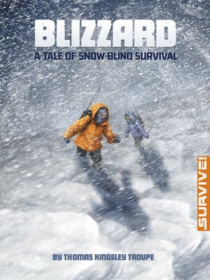 cover image of Blizzard: A Tale of Snow-blind Survival