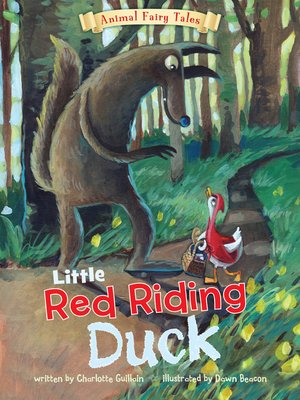 cover image of Little Red Riding Duck