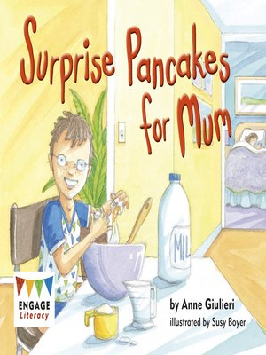 cover image of Surprise Pancakes for Mum