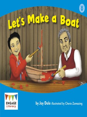 cover image of Let's Make a Boat