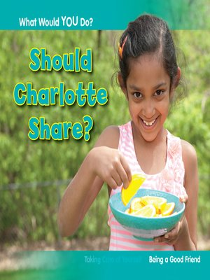 cover image of Should Charlotte Share?