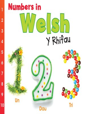 cover image of Numbers in Welsh